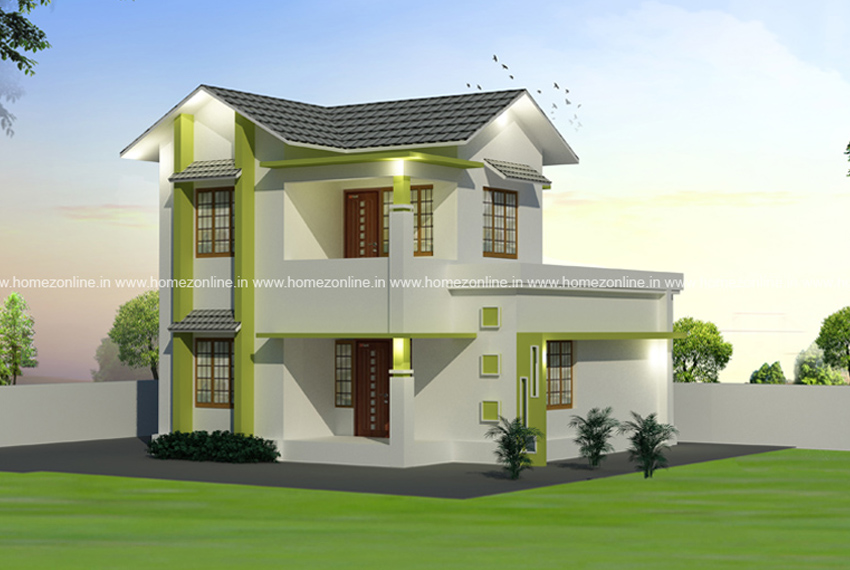 Low cost house plan with estimate