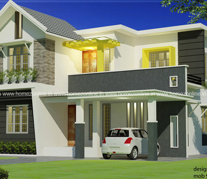 1420 Sq Ft Very Attractive Home Design