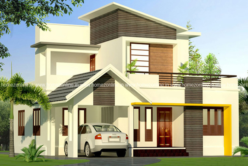 1430 Sq Ft Awesome Contemporary Home Design