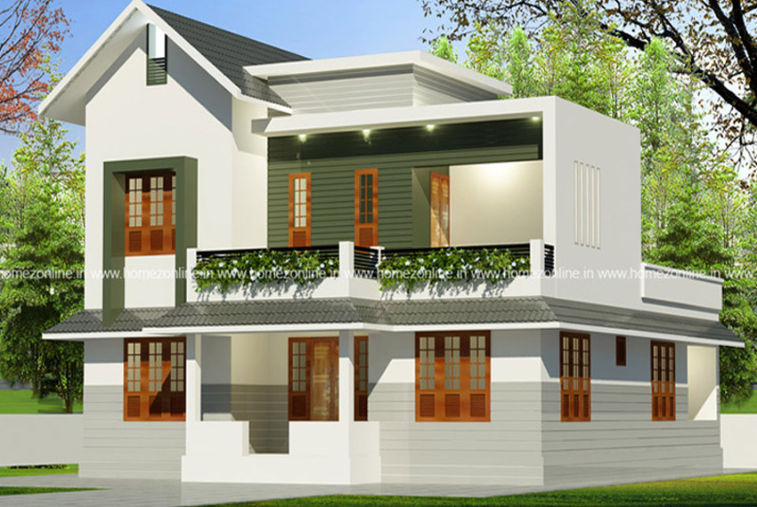1650 Sq Ft Very Simple Home Design