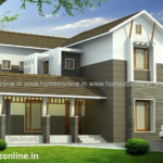4 bedroom house on double storey