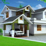 Kerala style home architecture in 2500 Sq Ft