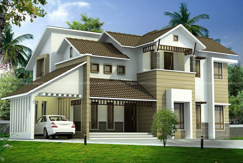 Modern architecture house in 2200 Sq Ft