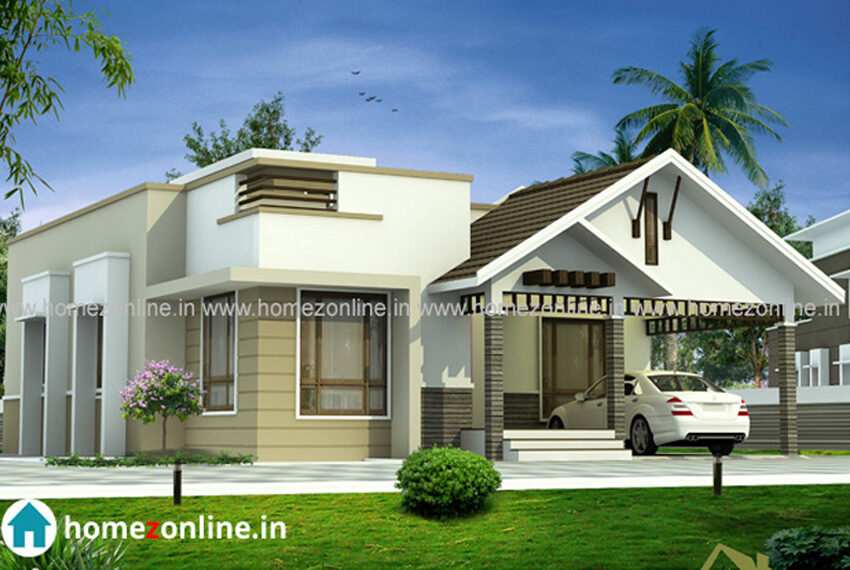 Modern single storey home