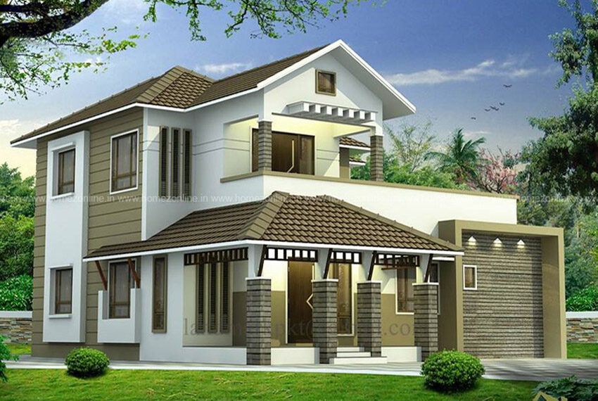 Modern traditional home design