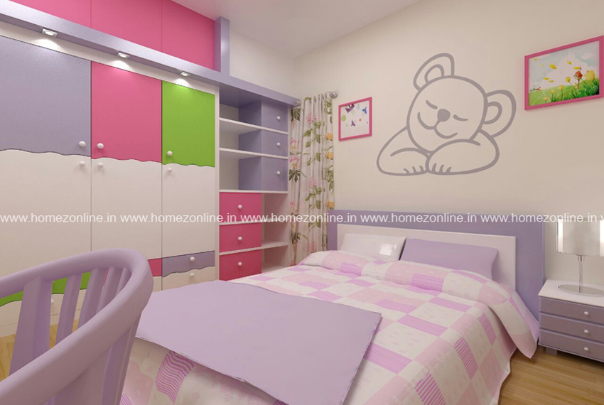 Stylish kids bed room interior designs