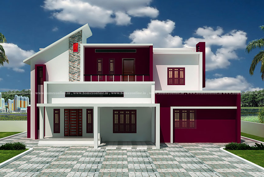 4 bedroom double storey house