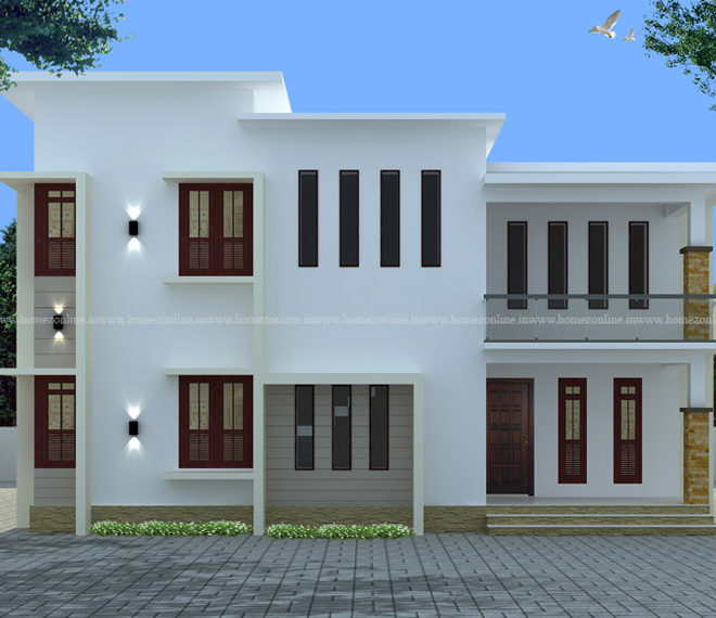 4 bedroom apartment on flat roof style