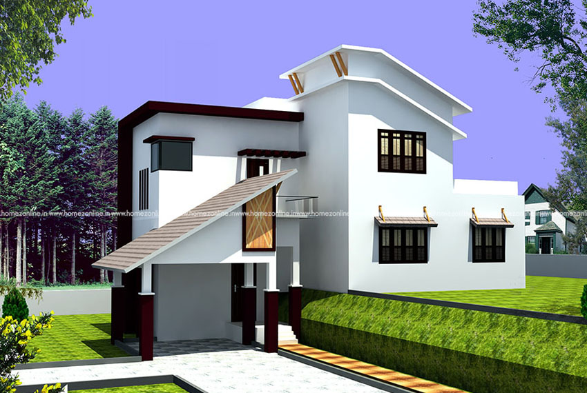 Beautiful house design suitable to step plot