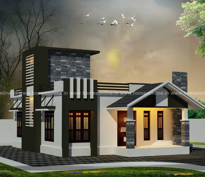 House front elevation designs for single floor