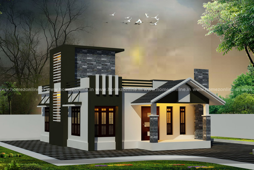 House Front Elevation Designs For Single Floor Single Floor House Elevation,Label M Designers Online