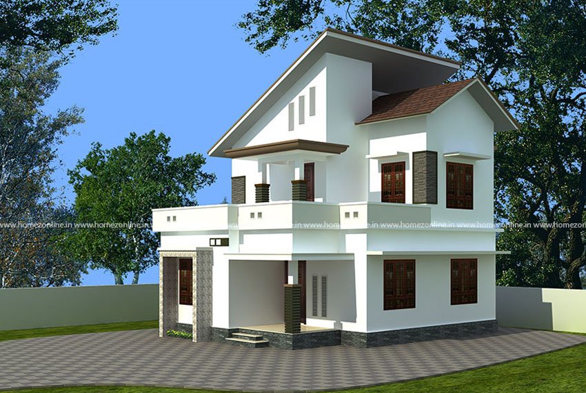 2 storey small house design with 3 bedroom