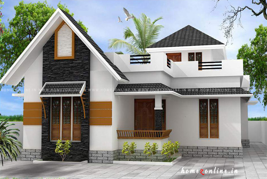 Low budget house design on single floor