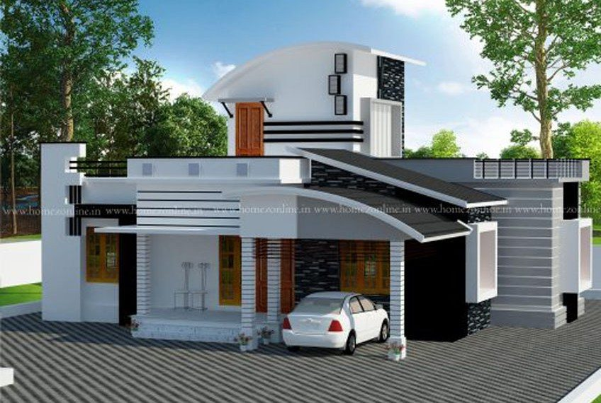Beautiful design simple house