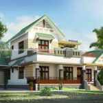 Modern traditional house in 3 bedroom