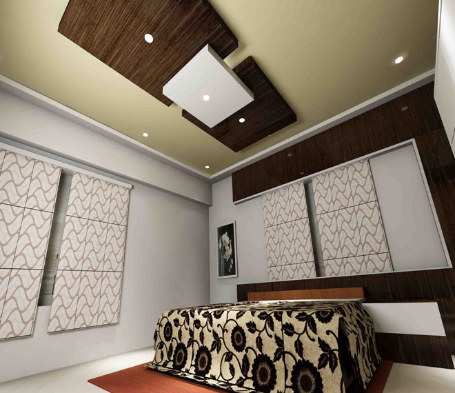 Modern bedroom design to make your home smart