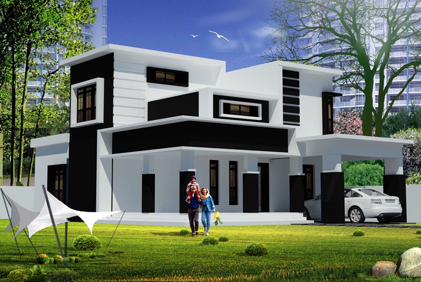 80 Best Flat Roof House Design Collections Modern Flat Roof House Plans