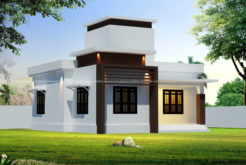 small house front design on a beautiful design