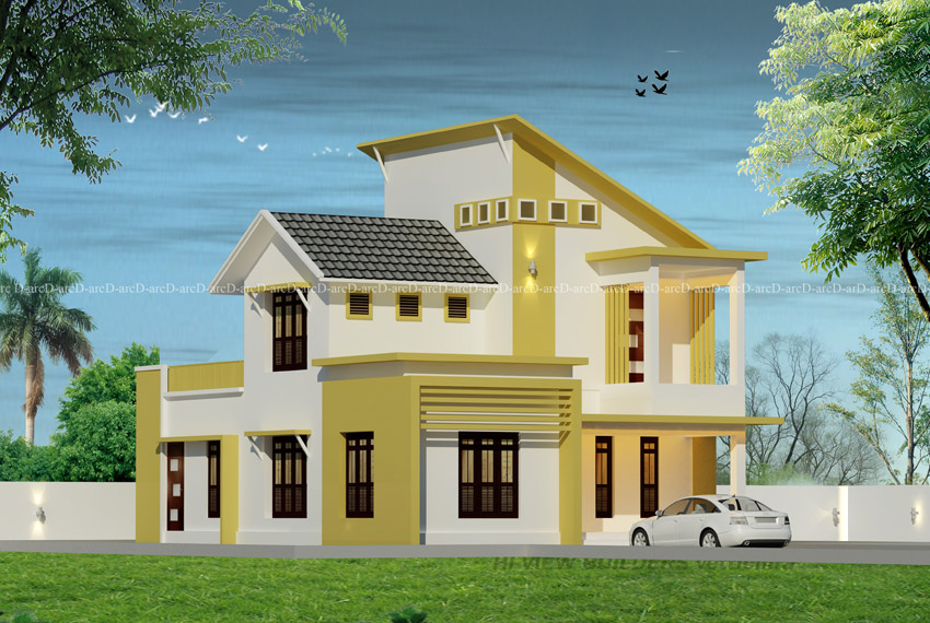 Best home plan design with a beautiful exterior