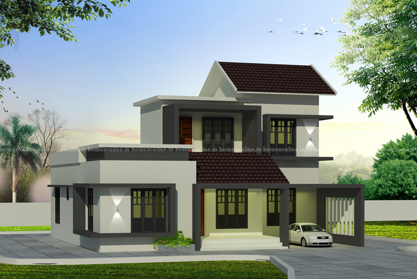 Modern 3 bedroom house in 130 square meter