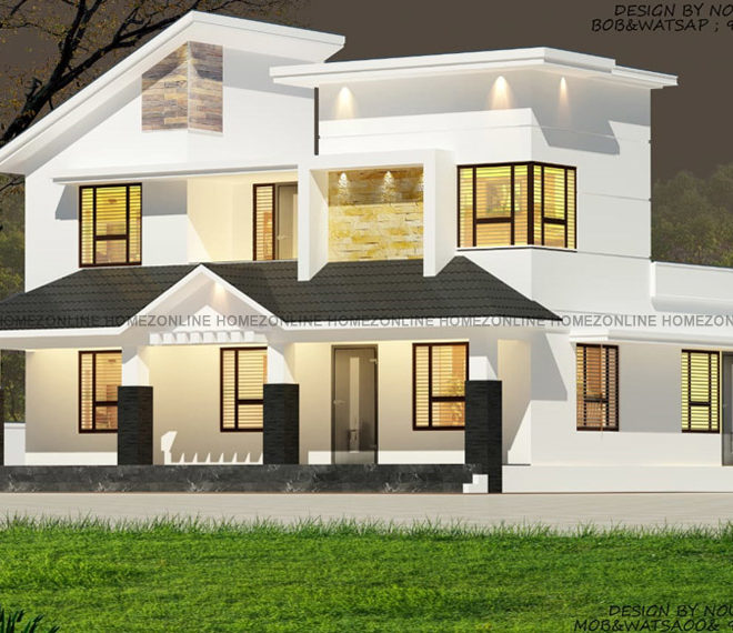2 floor elevation with a amazing design