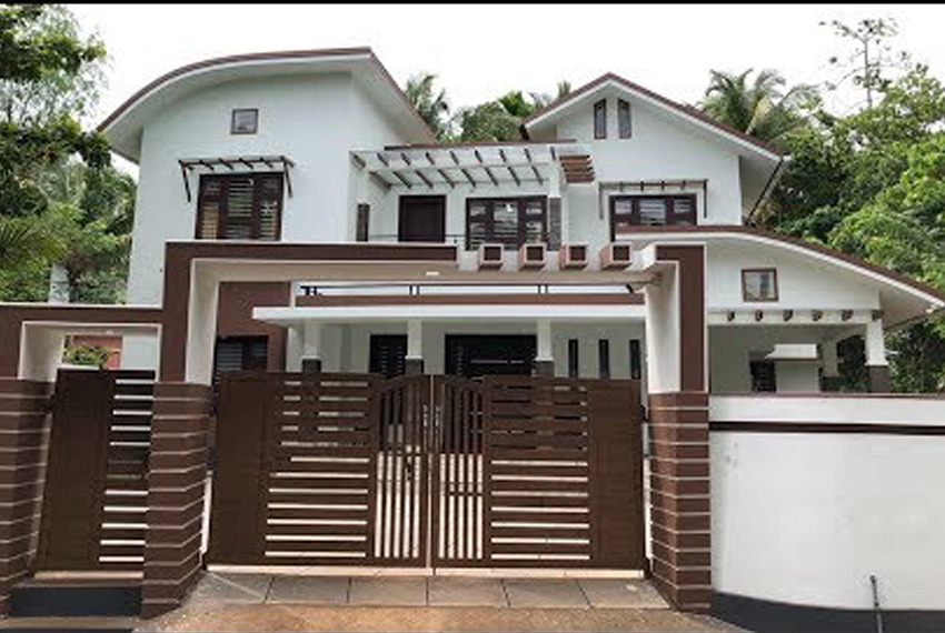 Brand new double story house for 40 lakhs with interior