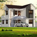 Double Story home with elegant exterior design.