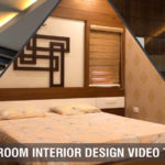 Bedroom interior design tour, Fall ceiling, decor, wallpaper and furniture