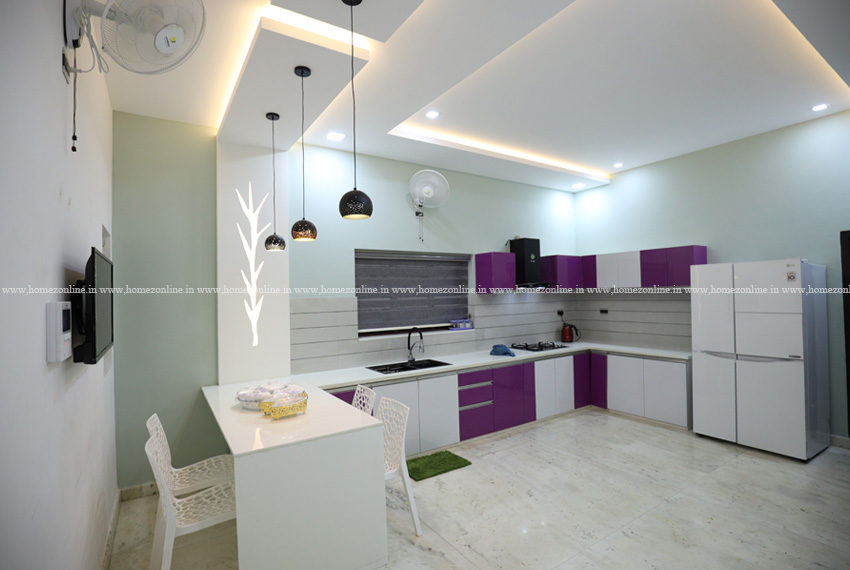 Great kitchen design with amazing interior work