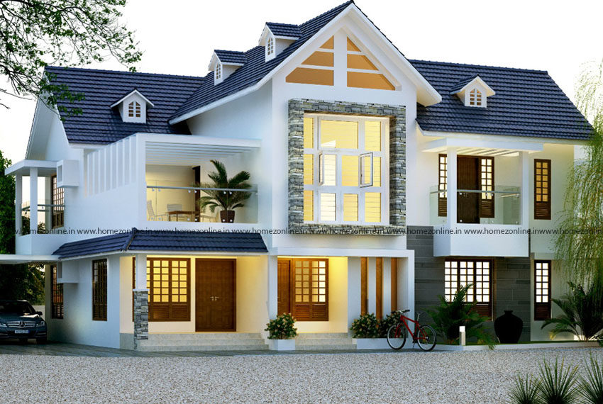 Most beautiful 70 home designs with ravishing exterior