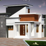 Very small home design on pleasing exterior outlook