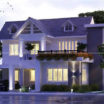 3 bedroom duplex house plan on glamorous outdoor view