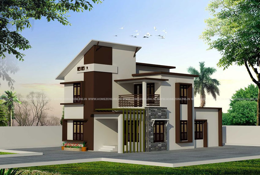 graceful two storey home design