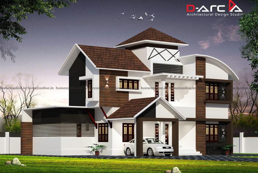 Best home architecture planed with 4 bedroom