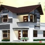 Low budget duplex house design