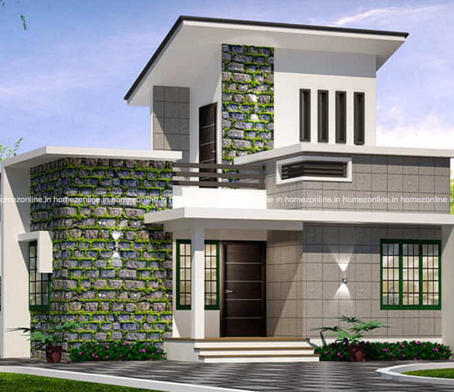 Variety single floor house design with modern exterior