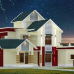 Best house elevation with amazing exterior design