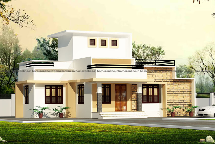 Beautiful simple single storey home with eye catching exterior