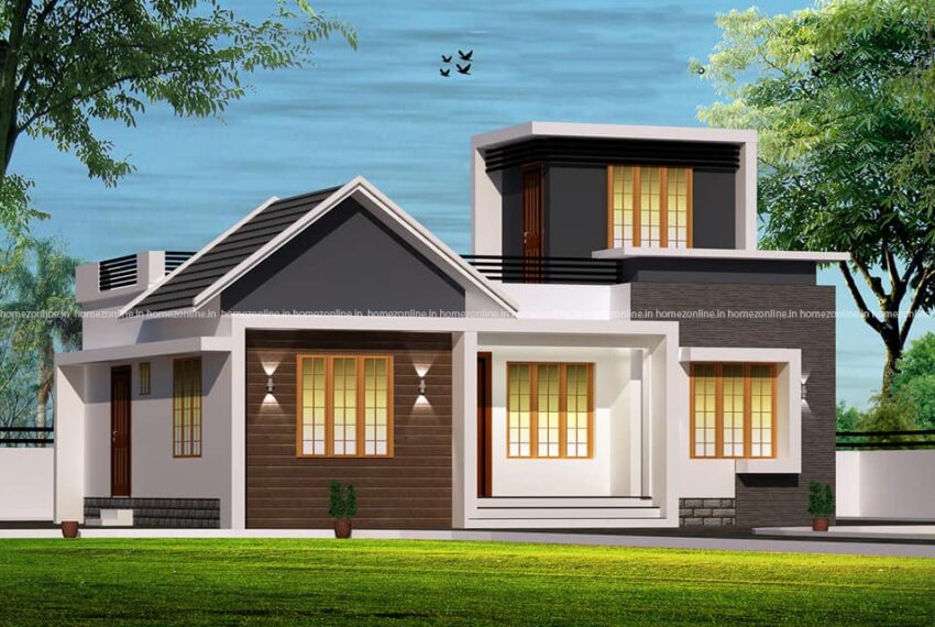 Ravishing simple single storey home