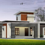 Eye catching single story house design