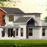 Modern double storey house plan