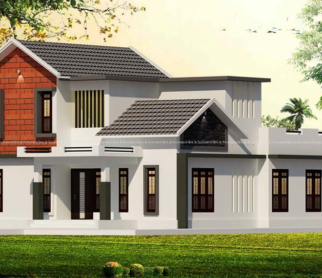 30 Best Sloping Roof Design Collections Sloping Roof House Plans