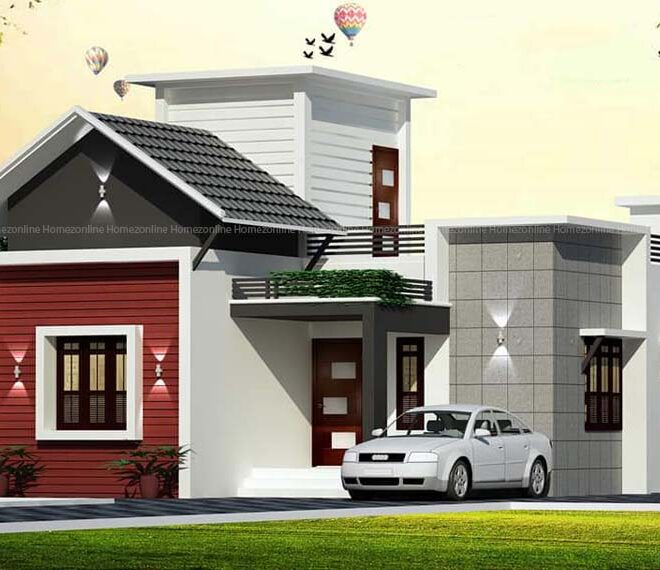 Attractive single storey home design