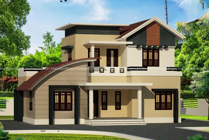Charming double storey home design