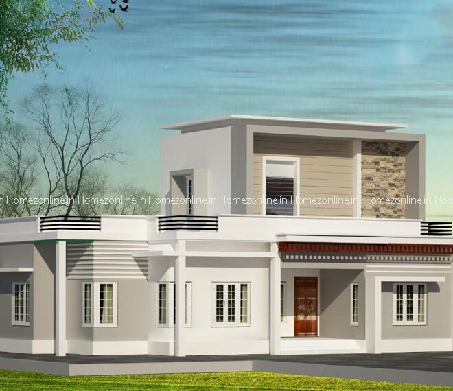 Dazzling double storey home