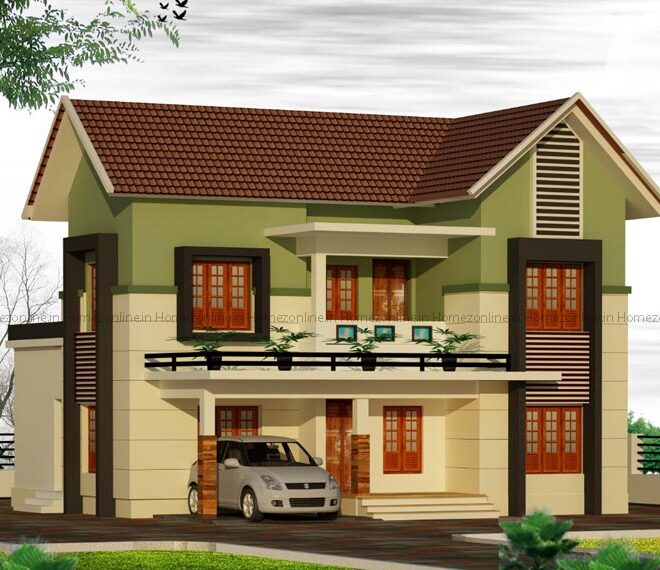 Great looking 4BHK home design