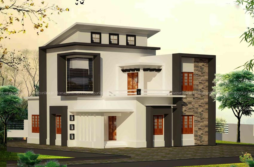 Mesmerizing double storey home design