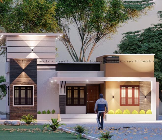 Small house design with modern features