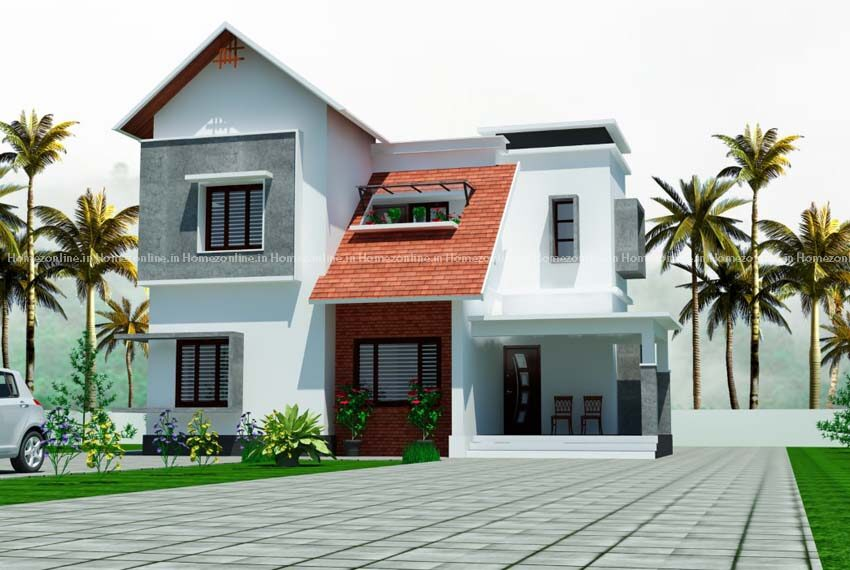 Aesthetic double storey home