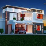 Awesome two floor house plan